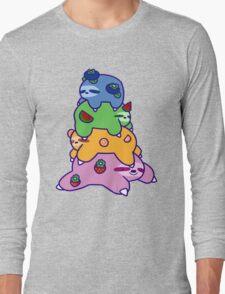 Fruit Sloth Stack Long Sleeve T-Shirt
