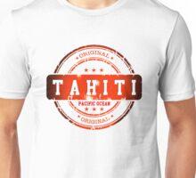 TAHITI Stamp Unisex T-Shirt