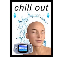 chill out Photographic Print