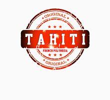 TAHITI  Island Logo Stamp  Unisex T-Shirt