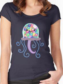 Gumball Machine Jellyfish Women's Fitted Scoop T-Shirt