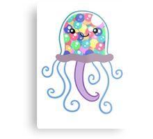 Gumball Machine Jellyfish Metal Print