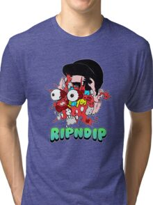 Getter 'Rip N Dip' Remixes   Black Tri-blend T-Shirt