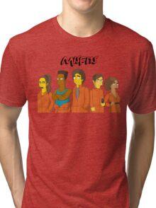 Misfits - Simpsons Style! Tri-blend T-Shirt