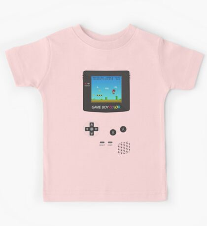 Nintendo Game Boy Super Mario Girly Kids Tee