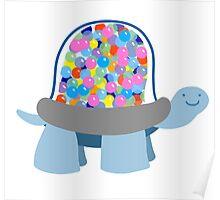 Gumball Machine Tortoise Poster