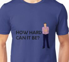 "Jeremy Clarkson ""How hard can it be?"" original design Unisex T-Shirt"