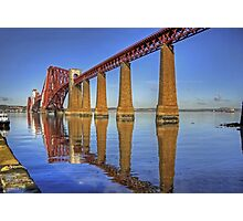 Bridge Reflections Photographic Print