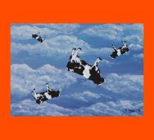 Falling Cows Kids Tee