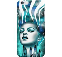 Luna - Blue iPhone Case/Skin