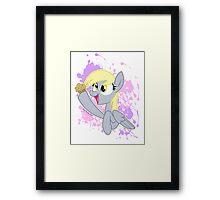 Derpyy Framed Print