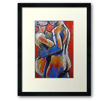 Lovers - Hot Summer Desire Framed Print