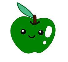 Cute Green Apple Photographic Print