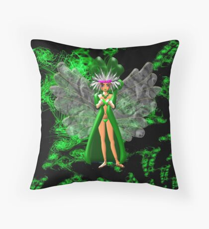 Morrigan the Celtic Goddess - pillow & tote Throw Pillow
