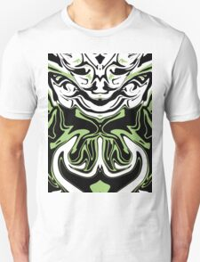 Green in to Black and White Unisex T-Shirt