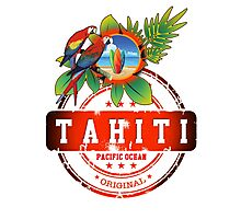 TAHITI Nice Island Photographic Print