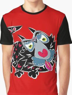 CrazyCat Graphic T-Shirt