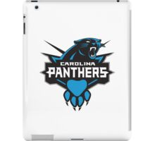 Carolina Panther Mod iPad Case/Skin