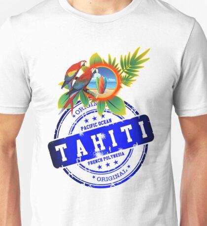 TAHITI Original Summer Beach Unisex T-Shirt
