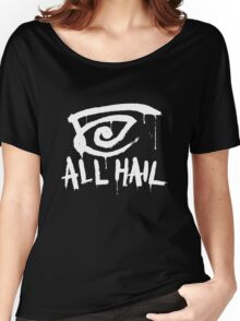 All Hail white Women's Relaxed Fit T-Shirt