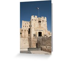 Citadel of Alepo Greeting Card