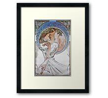 Alphonse Mucha - La Poesiepoetry Framed Print