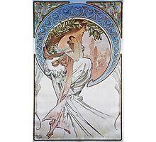 Alphonse Mucha - La Poesiepoetry Photographic Print