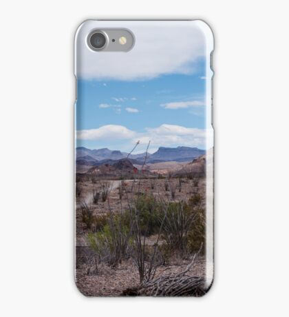 Big Bend National Park iPhone Case/Skin