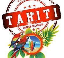 TAHITI Cool Beach by dejava