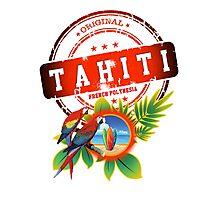 TAHITI Cool Beach Photographic Print