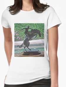 REMINGTON'S ROUGH RIDER Womens Fitted T-Shirt