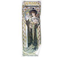 Alphonse Mucha - La Tosca Poster