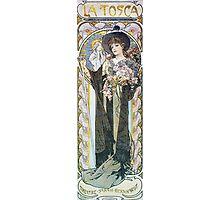 Alphonse Mucha - La Tosca Photographic Print