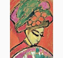 Alexei Jawlensky - Young Girl With A Flowered Hat  Unisex T-Shirt