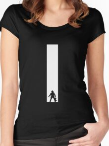 The Dark Tower white Women's Fitted Scoop T-Shirt