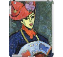 Alexei Jawlensky - Schokko With Red Hat  iPad Case/Skin