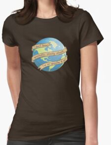 APATHETIC BLOODY PLANET Womens Fitted T-Shirt