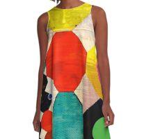 Hexagon design  A-Line Dress