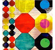 Hexagon design  Photographic Print