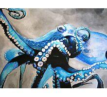 Deep Sea Blue Photographic Print