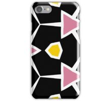 Abstract bacon and eggs iPhone Case/Skin