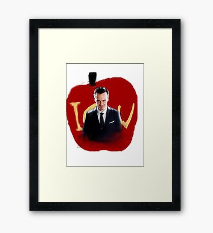 Moriarty iou Framed Print