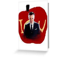 Moriarty iou Greeting Card