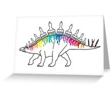 Stegodrawus Greeting Card