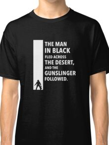 The Dark Tower Desert white Classic T-Shirt