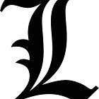 Deathnote L Symbol by bmthidk