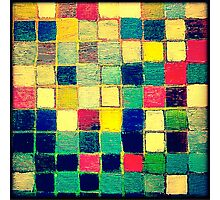 square work  Photographic Print