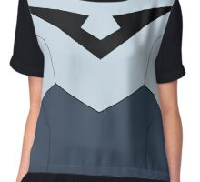 Shiro Voltron Paladin Uniform (Without Belt) Chiffon Top