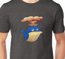 Alfred the Angry Atomic Whale Unisex T-Shirt