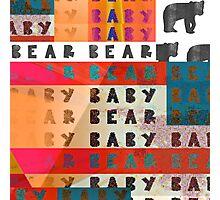 baby bear baby  Photographic Print